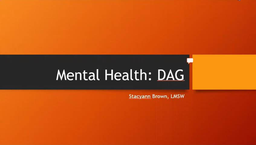 Mental Health: DAG